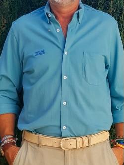 Camisa Pickers Azul Adriático