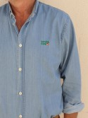 Camisa vaquera algodón España Viva