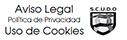 Web de la certificadora donde aparece la política de privacidad