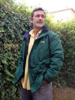 Chaquetón verde