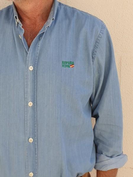 Camisa vaquera algodón