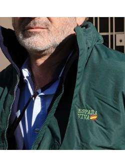 Chaquetón Verde España Viva